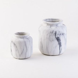 JAR FAUX MARBLE SMALL 5