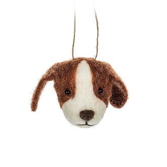 ORNAMENT DOG HEAD
