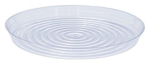 CWP CW-1700N Vinyl Plant Saucer  17-Inch Diameter  Clear