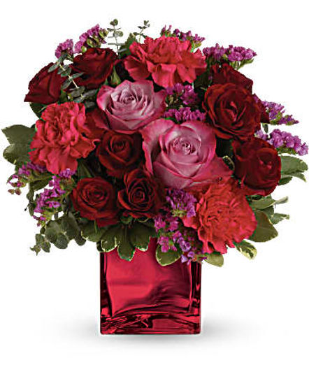 Teleflora's Ruby Rapture Bouquet
