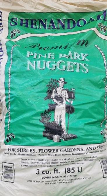 Pine Bark Large Nuggets  3 Cubit feet