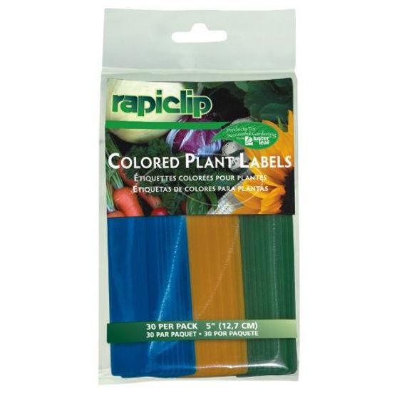 Luster Leaf 828 Rapiclip Colored Plant Labels