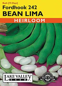 BEAN LIMA FORDHOOK 242   HEIRLOOM