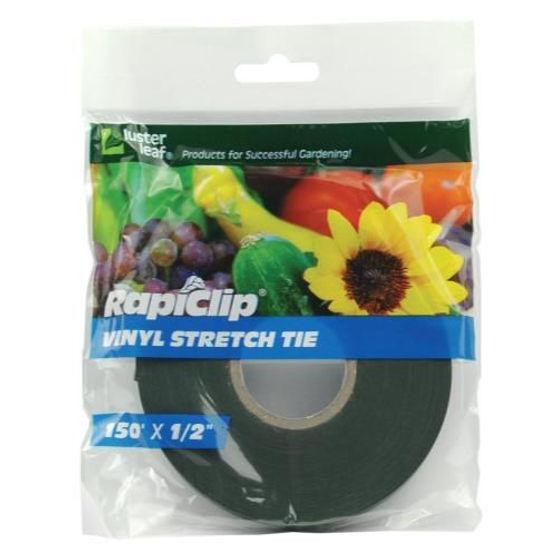 Luster Leaf  Rapiclip Vinyl Stretch Tie  Brown