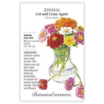 Zinnia Cut and Come Again