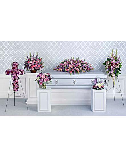 Teleflora's Lavender Tribute Collection