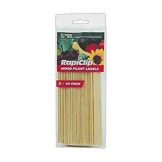 """Luster Leaf 813 Rapitest Wood Plant Labels  8"""""""