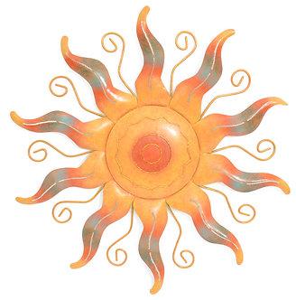 SUN WALL DECOR 22in
