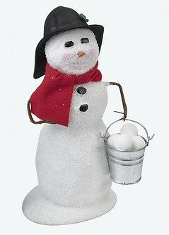 SNOWMAN W/ SNOWBALLS