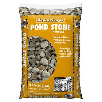 Pond Stone .5 Cubic feet