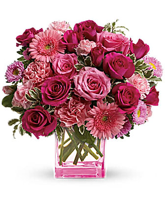Mary Kay's Pink Dreams Bouquet by Teleflora