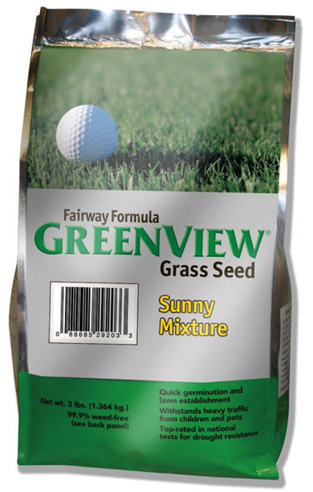 GreenView Fairway Grass Seed Sunny Mixture