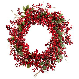 22BERRY WREATH RE