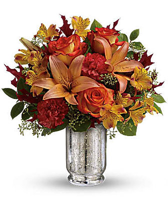 Teleflora's Fall Blush Bouquet