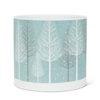 PLANTER SNOWY FOREST LARGE