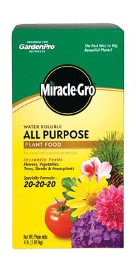 PLANT FOOD MIRACLE GRO 4#