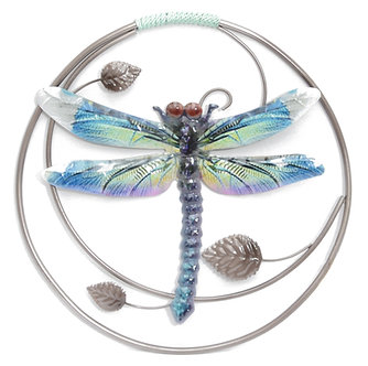 LUSTER WALL DECOR DRAGONFLY