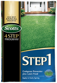 Scotts STEP 1 - Crabgrass Preventer Plus Lawn Food 15,000 Sq Ft