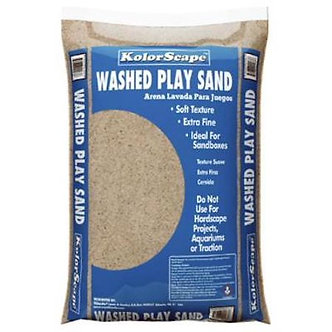 Kolorscape Washed Play Sand .4 Cubic feet
