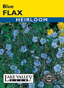 FLAX BLUE  HEIRLOOM