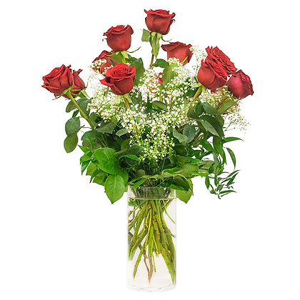 One Dozen Roses  (Choose Color)