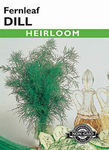 DILL FERNLEAF HEIRLOOM