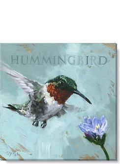 WALL ART HUMMINGBIRD GICLEE