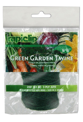 Luster Leaf  200 Ft. 3 Ply Garden Twine Green