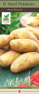 Seed Potatoes Box of 6 Assorted