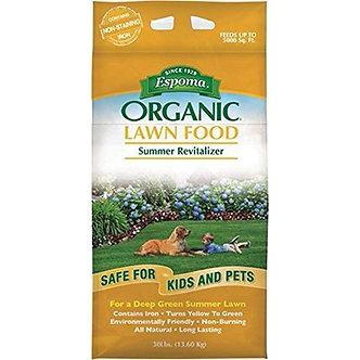 Espoma Organic Summer Lawn Fertilizer