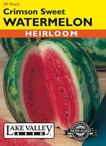 WATERMELON CRIMSON SWEET  HEIRLOOM