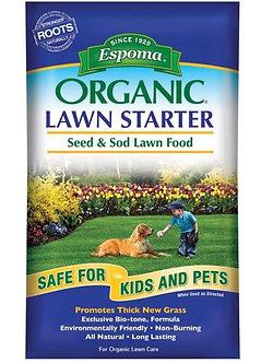 Espoma Organic Lawn Starter Food 36 lbs