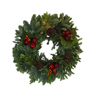 Countryside Wreath 24""