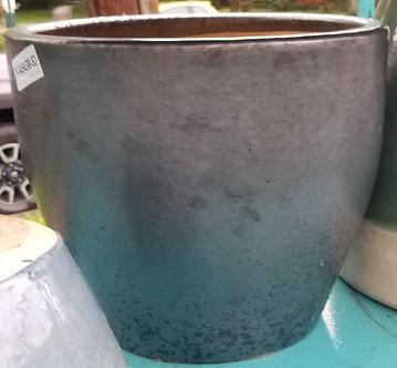 Dark Grey Ceramic pot