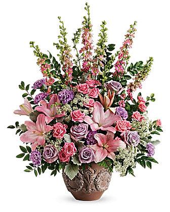 Teleflora's Soft Blush Bouquet