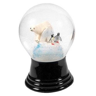 Snowglobe Med Polar Bear