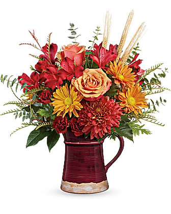 Teleflora's Fields Of Fall Bouquet