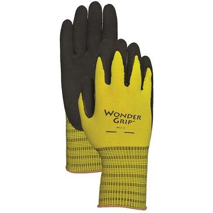 Lfs Glove Wonder Grip Extra Grip Garden Gloves Medium Green WG310M