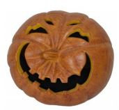 Smashed Pumpkin Luminary