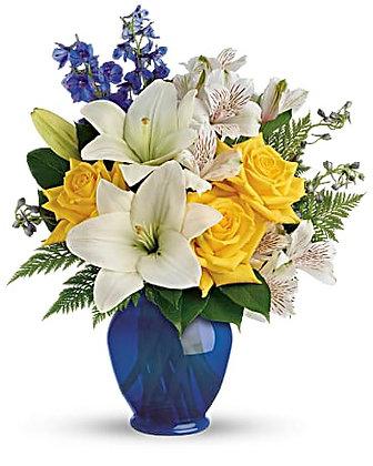 Teleflora's Oceanside Garden Bouquet