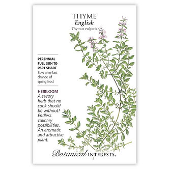 Thyme English