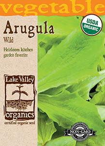 ORGANIC ARUGULA WILD   HEIRLOOM