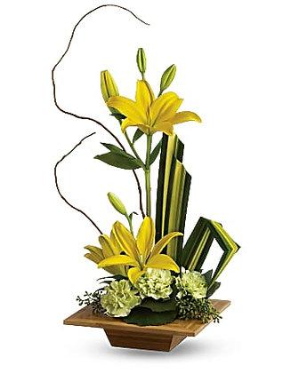 Teleflora's Bamboo Artistry