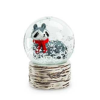 SNOWGLOBE RACCOON