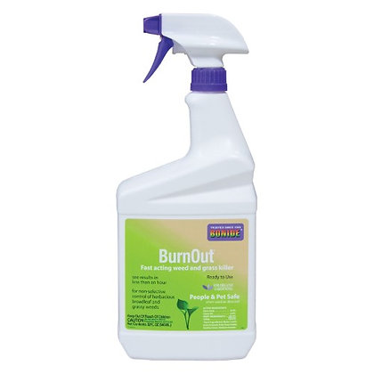 Bonide Products 917492 Burnout Weed and Grass Killer Ready to Use - Quart