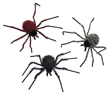 SPIDERS HAIRY 22
