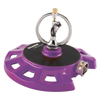 Dramm Corporation 10-15076 Purple ColorStorm Spinning Sprinkler