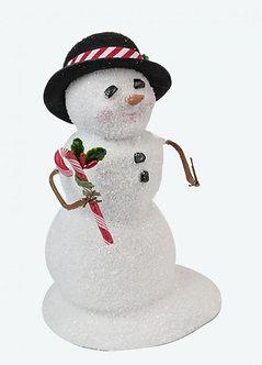 SNOWMAN W/ CANDY CANE