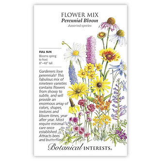 F Mix Perennial Bloom