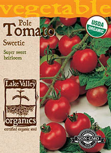 ORGANIC TOMATO POLE SWEETIE  HEIRLOOM
